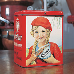 Werbedose für Süßigkeiten