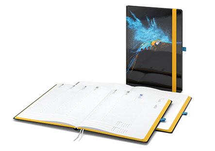 Hybrid-Timer: Kalender plus Notizbuch