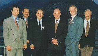 Der IEPO Vorstand in den 90ern
