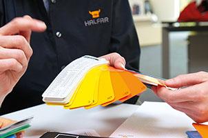 Materialwahl nach Qualität, Haptik, Veredelbarkeit und Langlebigkeit