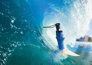 Surfen mit Werbemitteln
