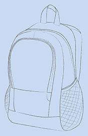 Rucksack Entwurf