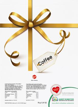 Spendenaktion: Rückseite des Werbe-Adventskalenders