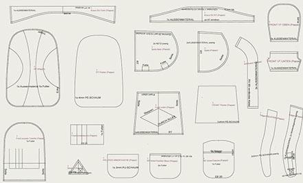 Entwicklung von Sondertaschen (Quelle: Halfar)