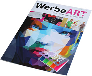 Zeitschrift mit Add-on