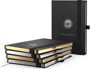 Notizbücher mit Gold als Edle Werbeartikel